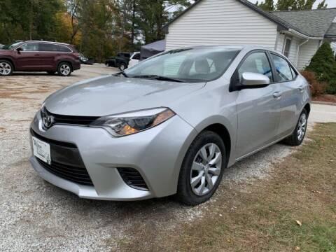 2016 Toyota Corolla for sale at Williston Economy Motors in Williston VT