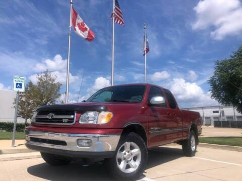 2001 Toyota Tundra for sale at TWIN CITY MOTORS in Houston TX