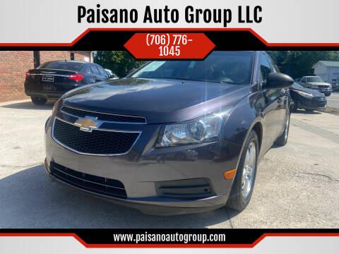 2011 Chevrolet Cruze for sale at Paisano Auto Group LLC in Cornelia GA