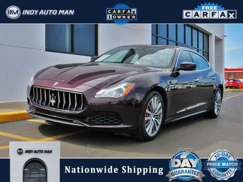 2017 Maserati Quattroporte for sale at INDY AUTO MAN in Indianapolis IN