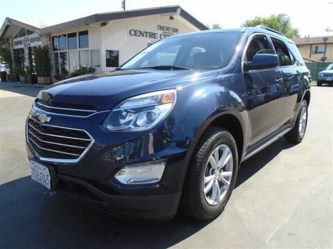 2016 Chevrolet Equinox for sale at Centre City Motors in Escondido CA