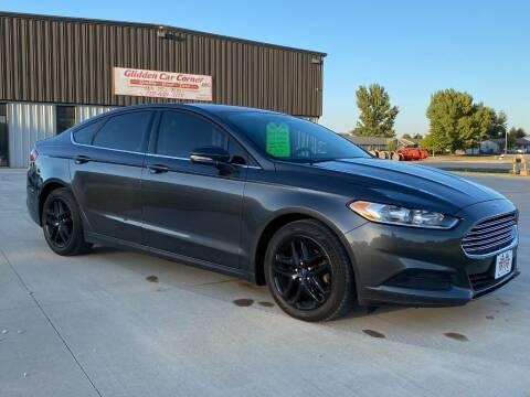 2016 Ford Fusion for sale at GLIDDEN CAR CORNER in Glidden IA