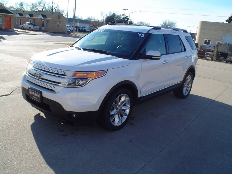 2013 Ford Explorer for sale at World of Wheels Autoplex in Hays KS