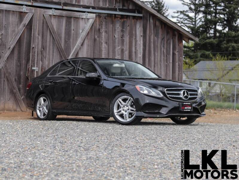 2014 Mercedes-Benz E-Class for sale at LKL Motors in Puyallup WA