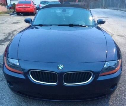 2004 BMW Z4 for sale at BG Auto Inc in Lithia Springs GA