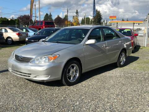 2004 Toyota Camry for sale at A & V AUTO SALES LLC in Marysville WA