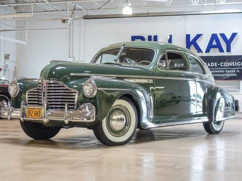 1941 Buick Special 2 door sedaneette for sale at Bill Kay Corvette's and Classic's in Downers Grove IL