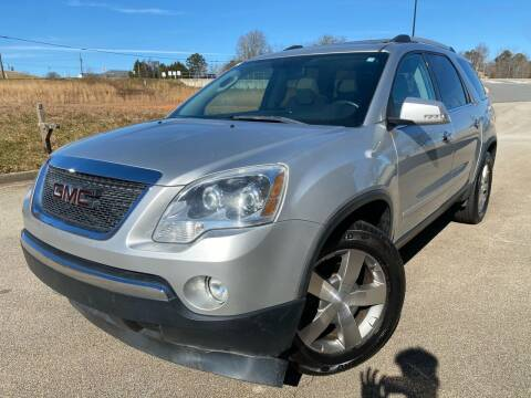 2011 GMC Acadia for sale at Gwinnett Luxury Motors in Buford GA