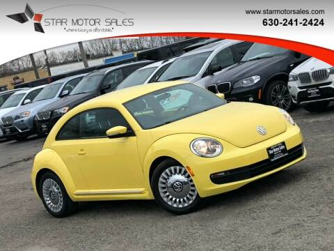 2014 Volkswagen Beetle for sale at Star Motor Sales in Downers Grove IL