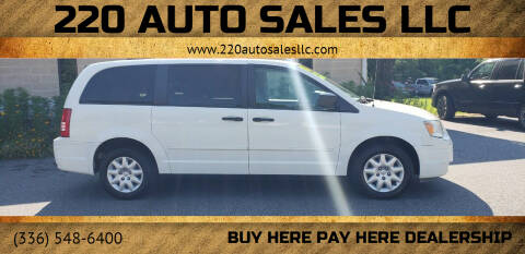 2008 Chrysler Town and Country for sale at 220 Auto Sales LLC in Madison NC