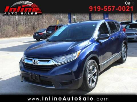 2018 Honda CR-V for sale at Inline Auto Sales in Fuquay Varina NC