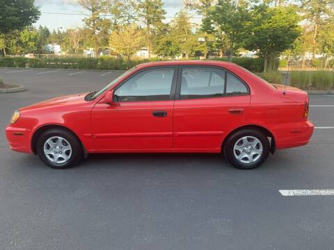 2003 Hyundai Accent for sale at Car One Motors in Seattle WA