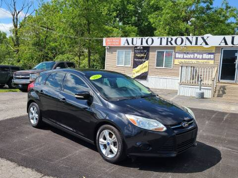 2013 Ford Focus for sale at Auto Tronix in Lexington KY