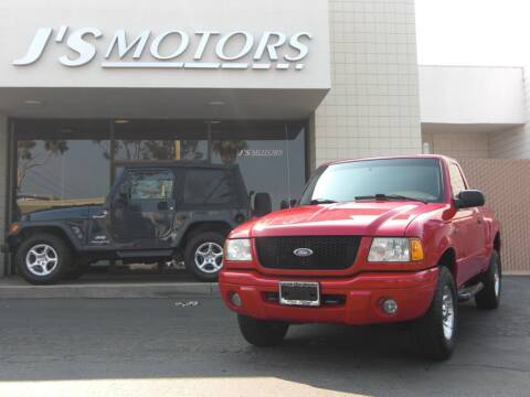 2001 Ford Ranger for sale at J'S MOTORS in San Diego CA