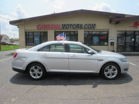 2013 Ford Taurus for sale at Cardinal Motors in Fairfield OH
