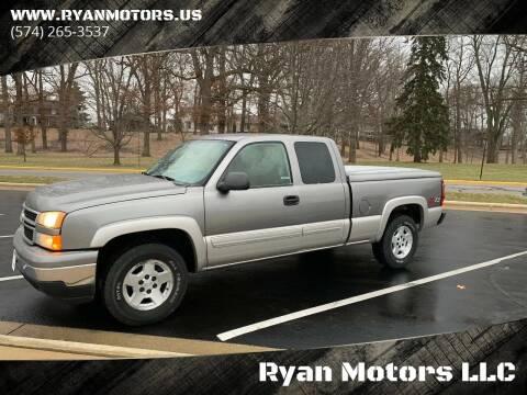 2006 Chevrolet Silverado 1500 for sale at Ryan Motors LLC in Warsaw IN