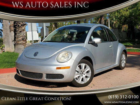 2008 Volkswagen New Beetle for sale at WS AUTO SALES INC in El Cajon CA