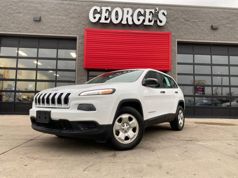 2014 Jeep Cherokee for sale at George's Used Cars - Pennsylvania & Allen in Brownstown MI