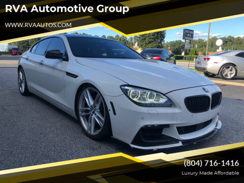 2013 BMW 6 Series for sale at RVA Automotive Group in North Chesterfield VA