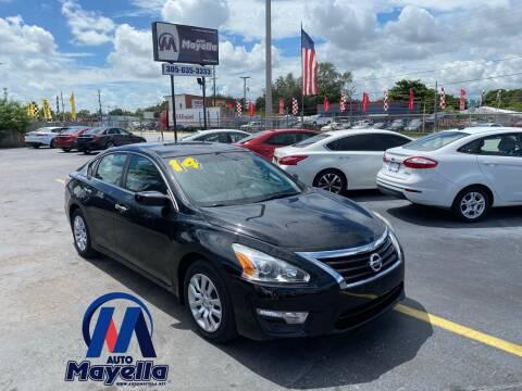 2014 Nissan Altima for sale at Auto Mayella in Miami FL