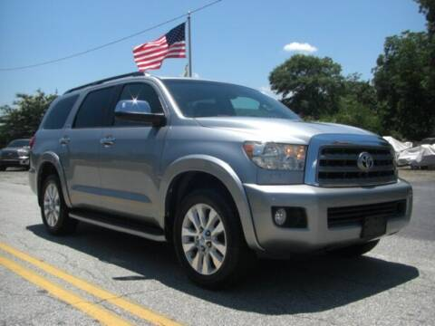 2014 Toyota Sequoia for sale at Manquen Automotive in Simpsonville SC