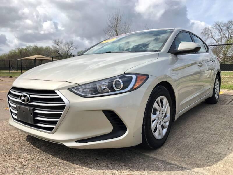 2017 Hyundai Elantra for sale at Speedy Auto Sales in Pasadena TX