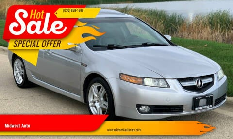 2007 Acura TL for sale at Midwest Auto in Naperville IL