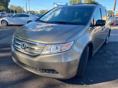 2012 Honda Odyssey for sale at Atlantic Auto Sales in Garner NC