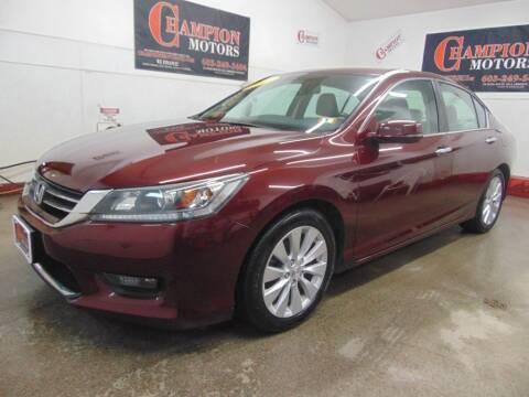 2014 Honda Accord for sale at Champion Motors in Amherst NH
