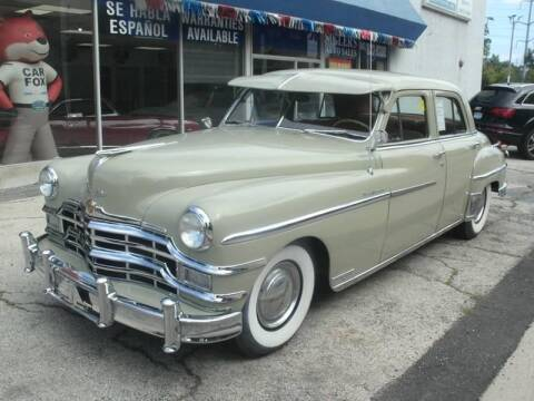 1949 Chrysler New Yorker for sale at Siglers Auto Center in Skokie IL