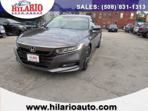 2018 Honda Accord for sale at Hilario's Auto Sales in Worcester MA