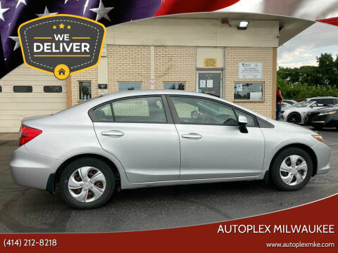 2012 Honda Civic for sale at Autoplex 3 in Milwaukee WI