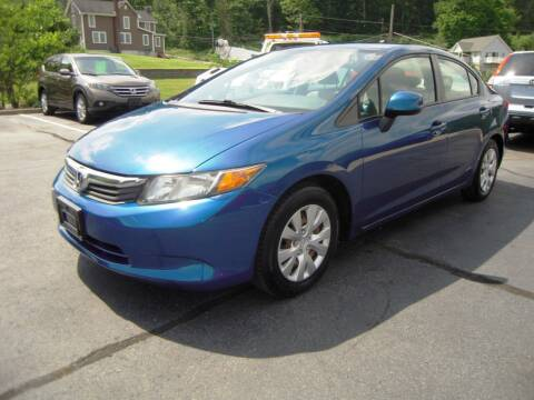 2012 Honda Civic for sale at 1-2-3 AUTO SALES, LLC in Branchville NJ