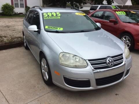 2009 Volkswagen Jetta for sale at Harrison Family Motors in Topeka KS
