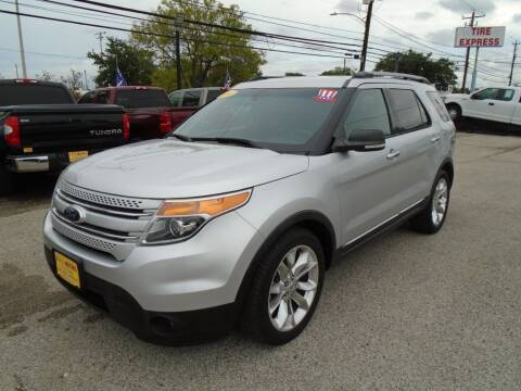 2014 Ford Explorer for sale at BAS MOTORS in Houston TX