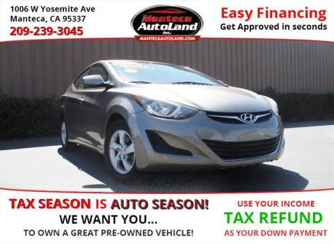 2015 Hyundai Elantra for sale at Manteca Auto Land in Manteca CA