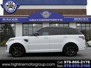 2020 Land Rover Range Rover Sport for sale at Highline Group Motorsports in Lowell MA