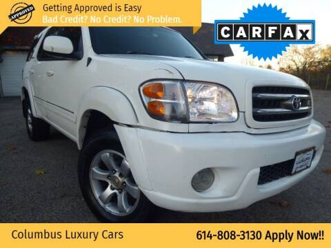 2004 Toyota Sequoia for sale at Columbus Luxury Cars in Columbus OH