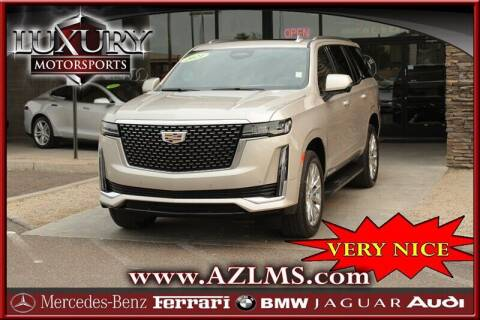 2021 Cadillac Escalade for sale at Luxury Motorsports in Phoenix AZ