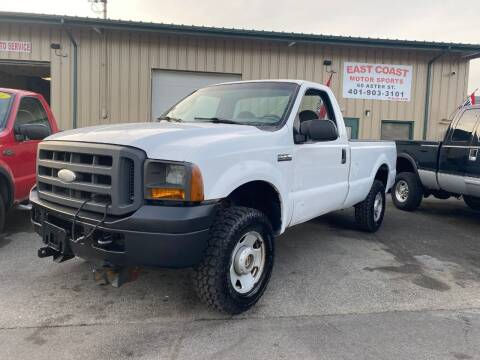 2005 Ford F-250 Super Duty for sale at East Coast Motor Sports in West Warwick RI