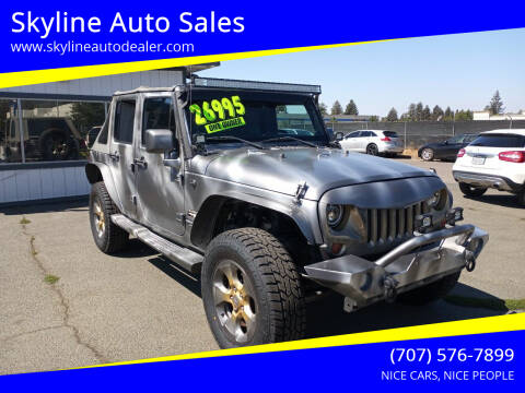 2013 Jeep Wrangler Unlimited for sale at Skyline Auto Sales in Santa Rosa CA