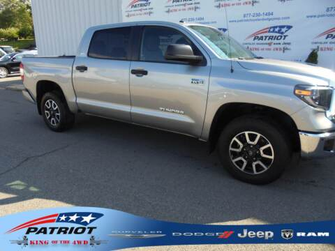2019 Toyota Tundra for sale at PATRIOT CHRYSLER DODGE JEEP RAM in Oakland MD