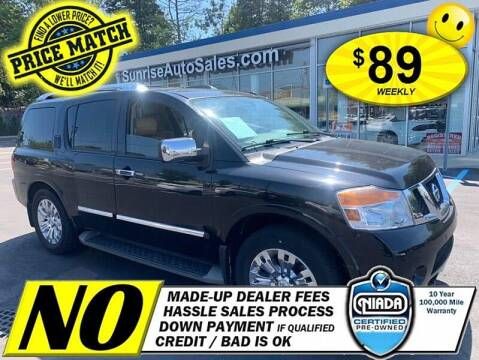 2015 Nissan Armada for sale at AUTOFYND in Elmont NY