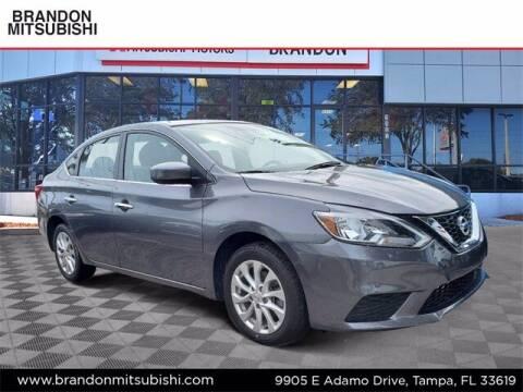 2018 Nissan Sentra for sale at Brandon Mitsubishi in Tampa FL