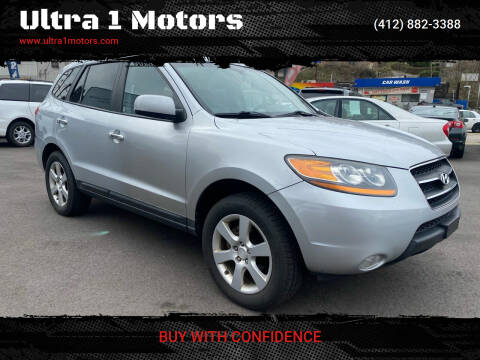 2009 Hyundai Santa Fe for sale at Ultra 1 Motors in Pittsburgh PA