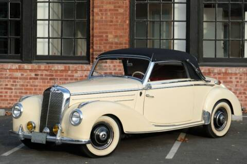 1952 Mercedes-Benz 220A for sale at Gullwing Motor Cars Inc in Astoria NY