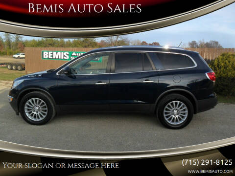 2012 Buick Enclave for sale at Bemis Auto Sales in Crivitz WI