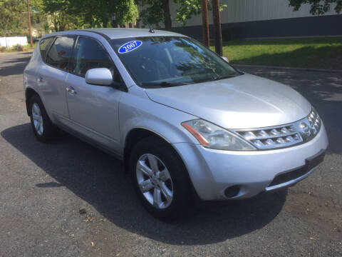 2007 Nissan Murano for sale at UNION AUTO SALES in Vauxhall NJ