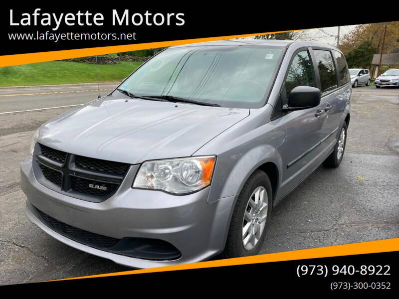 2014 RAM C/V for sale at Lafayette Motors in Lafayette NJ