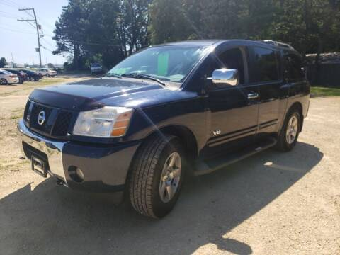 2007 Nissan Armada for sale at Northwoods Auto & Truck Sales in Machesney Park IL